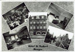 BRUGGE-HOTEL SAINT- HUBERT-Multivues-PROPRIETAIRES: DESCHACHT & MARYSAEL-ZUITZANDSTRAAT - Brugge