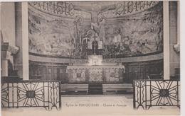 59 Flesquieres Eglise  Choeur Et Fresque - France