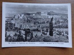 Griekenland - Greece / Athènes, L'Acropole Vue Du Philopappe --> Written 1959 - Grèce