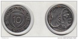 Allemagne Notgeld 10 Pfennig 1921  COBLENZ - Monetary/Of Necessity