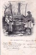 29 - Finistere - CAST - Route De Quemeneven  Un Puits -  Animée - Poeme Theodore Botrel - France