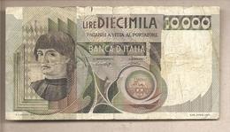 """Italia - Banconota Circolata Da £ 10.000 """"Macchiavelli"""" P-106a.2 - 1978 - [ 2] 1946-… : Repubblica"""