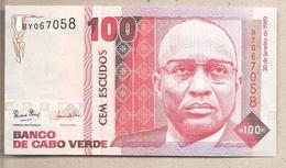 Capo Verde - Banconota Non Circolata FdS Da 100 Scudi P-57a - 1989 - Capo Verde