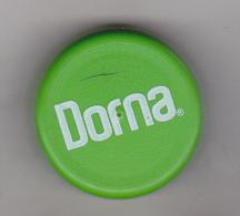 Romania Mineral Water Cap - Plastic Cap - Dorna - Green - Soda