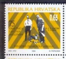 HR 1996-ZZ88 75A°INSULIN ISOLIRE, CROATIA-HRVATSKA, 1v, MNH - Croacia