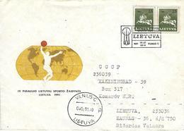 Postmark Sport Lietuva 1991 - Lithuania - Lithuania
