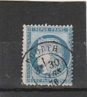 Eure - Bourth - CaD Sur Type Cérès - Mars 1876 - Marcofilie (losse Zegels)