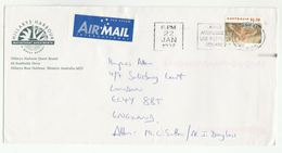 1997 Australia HILLARYS HARBOUR RESORT APARTMENTS Illus ADVER COVER To GB Bird Stamps Birds Hotel - 1990-99 Elizabeth II