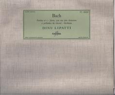 BACH - PARTITA N° 1 * Jésus, Que Ma Joie Demeure Et 2 * Préludes De Choral * Siciliana - DINU  LIPPATI (Columbia) - Classical