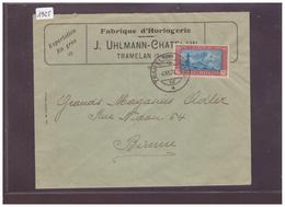 TRAMELAN - FABRIQUE D'HORLOGERIE UHLMANN-CHATELAIN - Pro Juventute