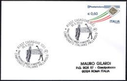 VOLLEYBALL - ITALIA CASAGIOVE (CE) 2010 - CAMPIONATO ITALIANO PALLAVOLO UNDER 14 MASCHILE - SMALL SIZE COVER - Pallavolo