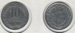 Allemagne  Kriegsnotgeld 10 Pfennig  PFORZHEIM 1917 - Monetary/Of Necessity