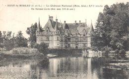 (37) Indre Et Loire - CPA - Azay-le-Rideau - Le Château National - Azay-le-Rideau