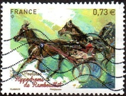 Oblitération Moderne Sur Timbre De France N° 5158 - Hippodrome De Rambouillet - France