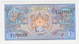 Bhutan P 12 - 1 Ngultrum 1986 - UNC - Bhoutan