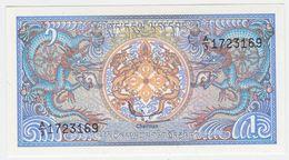 Bhutan P 12 - 1 Ngultrum 1986 - UNC - Bhutan
