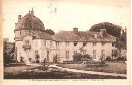 (45) Loiret - CPA - Montargis - Châteauneuf-sur-Loire - Ancien Château - Hôtel De Ville - Montargis