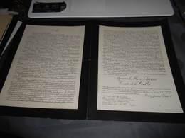 229 - Faire-Part De Décès , Monsieur Aymars Marie Léonce COMTE DE LA CELLE , Le 22 Juillet 1933 Au Château De La Creste - Décès