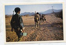 ERITREA - AK 326981 Une Colonne De  'medicines Aux Pieds ... Dans La Province De Barka - Eritrea