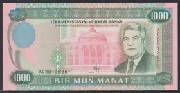 Turkmenistan 1000 Manat 1995 UNC - Turkmenistan