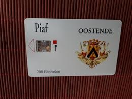 Carte Piaf Belgique Oostende   Used  2 Scans Rare - France