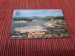 Phonecard 20 $ St-Lucia Number 16CSLB   Used  Rare - Santa Lucía