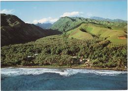 Tahiti - Le Village De Papenoo Sur La Côte Est - Tahiti
