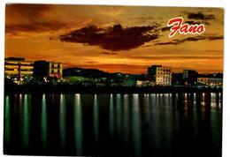 Marche Fano Panorama Notturno Non Viaggiata - Fano