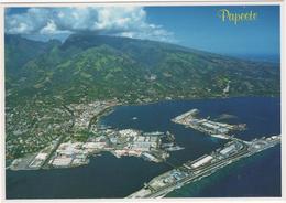 Papeete Harbor - Vue Aérienne De La Ville De Papeete - Tahiti