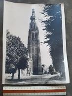 Grote Foto Photo (22 X 29 Cm) Kerk Hoogstraten - Hoogstraten