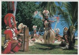 Ceremonie Religieuse Au Marae D\'Arahurahu Entre Pretres Fidjiens At Tahitiens - Tahiti
