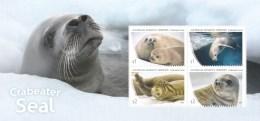 Australian Antarctic 2018 Crabeater Seal Minisheet MNH - Australisches Antarktis-Territorium (AAT)