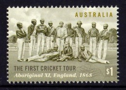 Australia 2018 The First Cricket Tour $1 MNH - Mint Stamps