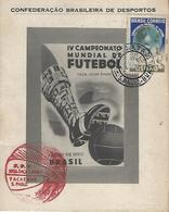 Jules Rimet World Soccer Championship 1950 - Postamarks - Brésil