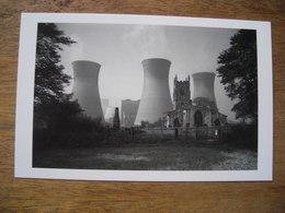 Réimpression English Heritage Eric De Mare Ferybridge B Power Station St Edward's Church, Centrale électrique - Illustrateurs & Photographes