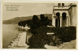 TRIESTE  Miramar  Miramare  Pubblicità Vino Di China Ferrugginoso Serravallo  Tuck's Post Card - Trieste