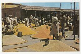 Asmara, Open Air Grain Market Old Postcard Travelled 1963 B180612 - Eritrea