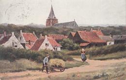 Original 1907 Written Postcard - Chromotypie Morks & Geuze Dordrecht - W. De Haan Utrecht Serie 43 - 2 Scans - Paintings