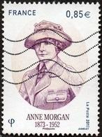 Oblitération Moderne Sur Timbre De France N° 5123 - Anne Morgan - France