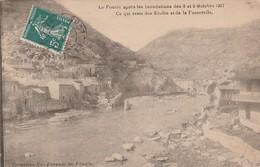 Ardéche : LE POUZIN : Après Les Inondations Des 8 Et9 Octobre 1907 - Le Pouzin