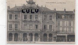 DEPT 54 : édit. Libr. Reboulet A : Pont A Mousson 1917 Place Duroc - Pont A Mousson