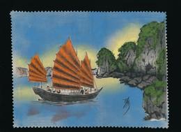 Indochine - Asie - Vietnam - Peinture Sur Soie Originale - Signée - Années 50 - à Encadrer - Asian Art