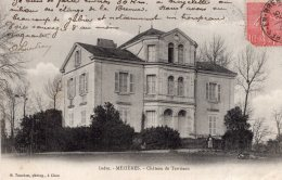 V15176 Cpa 36 Mézières - Château De Territeau - Frankreich
