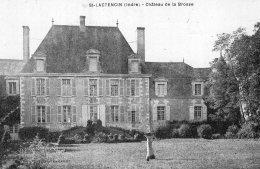 V15179 Cpa 36 St Lactencin - Château De La Brosse - Frankreich