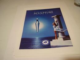 PUBLICITE PARFUM SCULTURE DE NIKOS PARFUM 1994 - Perfume & Beauty