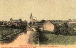 V15196 Cpa 36 Tournon St Martin - Vue Prise De La Route De Brochard - Frankreich