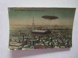 Paris. Panorama Prise De L'Opera. ELD B19 Postmarked 1945? - France