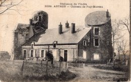 V15214 Cpa 36 Arthon - Château De Puy Moreau - Non Classificati