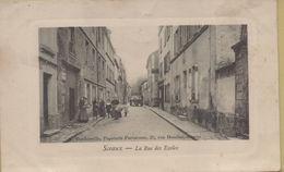 Sceaux : La Rue Des Ecoles - Sceaux