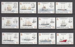 British Antarctic Territory / BAT MNH Michel Nr 459/70 From 2008 / Catw 55.00 EUR - Brits Antarctisch Territorium  (BAT)